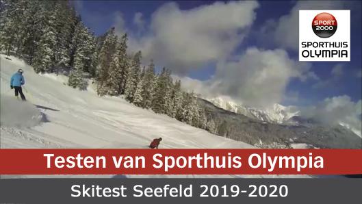 testen van Sporthuis Olympia Seefeld 2019-2020