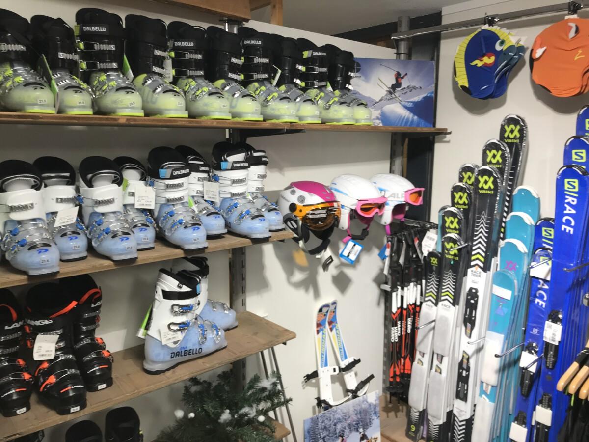 kinder ski's en schoenen