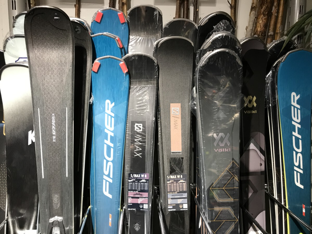 salomon volkl fischer ski's