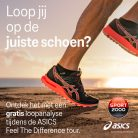 feel the difference tour Asics
