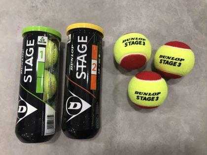 dunlop stage tennisballen