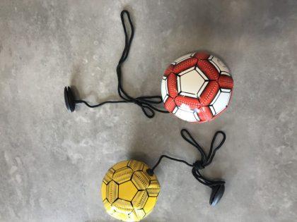 minivoetbal met touw
