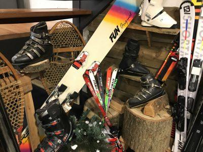 retro ski's