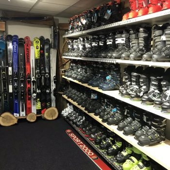 ski's en skischoenen